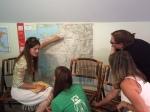 Giulia teaching